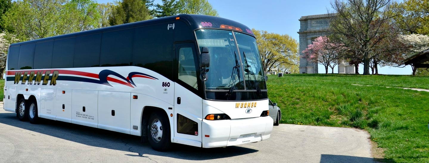 Philadelphias Premier Charter Bus Company Werner Coach - Do charter buses have bathrooms